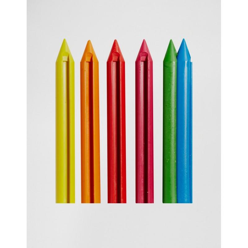 Crayons de couleur embo tables gadget anniversaire - Tuto trousse crayons de couleur ...