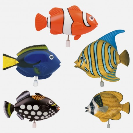 M canisme poisson exotique cadeau original cadeau for Carrelage ecaille poisson