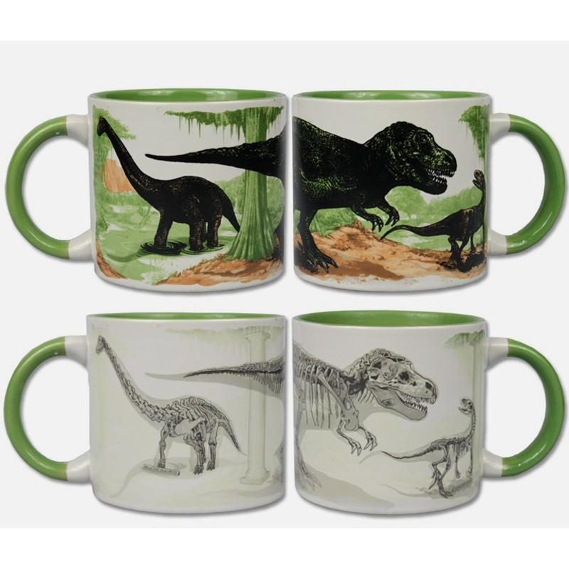 mug tasse magique dinosaure objet original et insolite. Black Bedroom Furniture Sets. Home Design Ideas