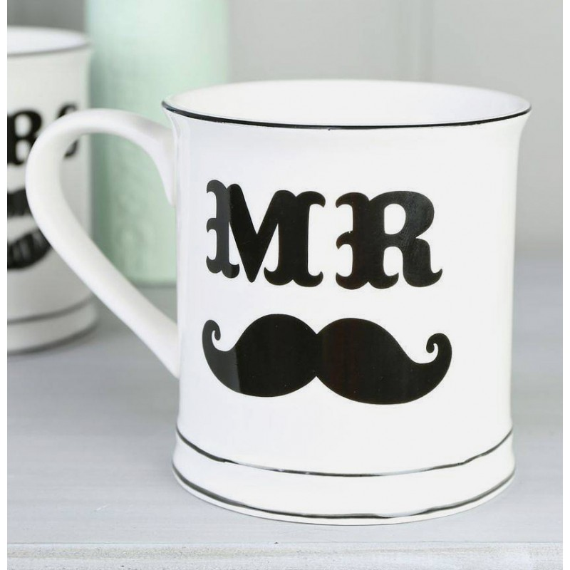 mug tasse mr moustache objet original et insolite id es cadeaux. Black Bedroom Furniture Sets. Home Design Ideas