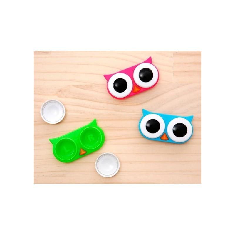 Souvent Etui a lentilles de contact Hibou - objet original - cadeau  SO77