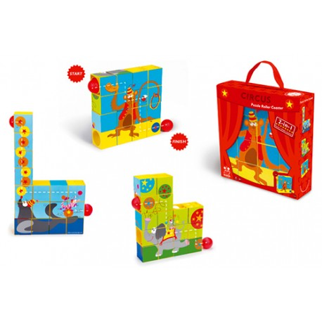 Boutique-Originale : Cube et balle puzzle circus