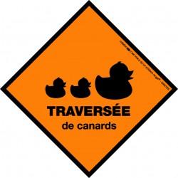 Boutique-Originale : Sticker - Traversée de canards