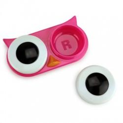 Boutique-Originale : Porte-lentilles de contact - Hibou