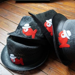 Boutique-Originale : Chapeau - Poisson rouge