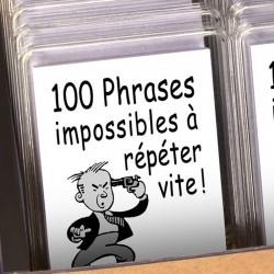 Boutique-Originale : 100 phrases impossibles à répéter vite !