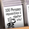 100 phrases impossibles à répéter vite !