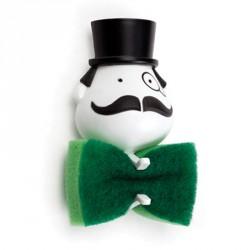 Collection moustache cadeau marrant cadeau sympa for Porte eponge rigolo