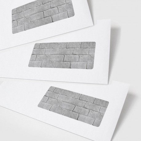 Enveloppes fen tre mur es boutique originale for Enveloppe a fenetre