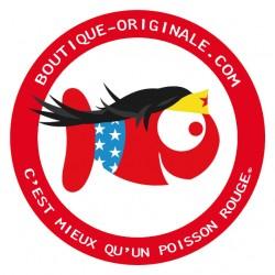 Boutique-Originale : Stickers du poisson