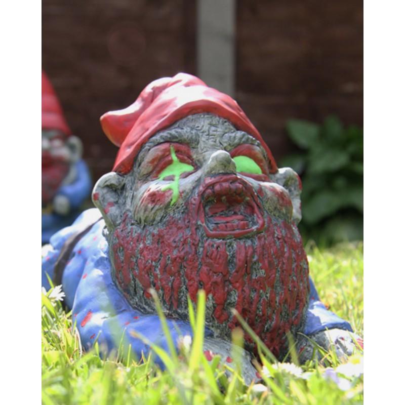 Nain zombie rampant jeu original jeu insolite et fun - Nain de jardin en terre cuite ...
