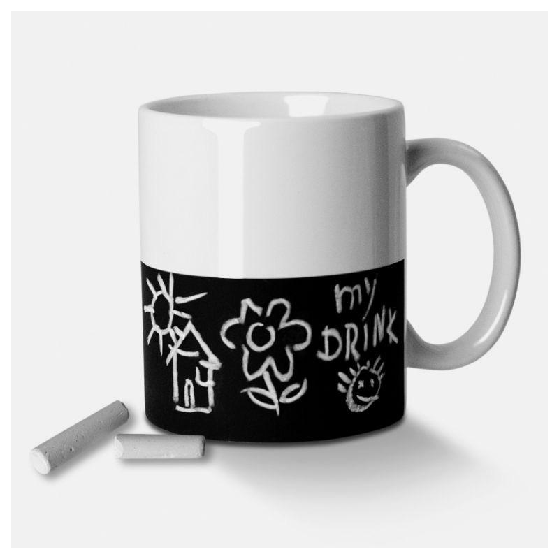 mug tasse ardoise objet original et insolite id es cadeaux. Black Bedroom Furniture Sets. Home Design Ideas
