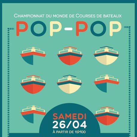 BATEAU À VAPEUR POP-POP
