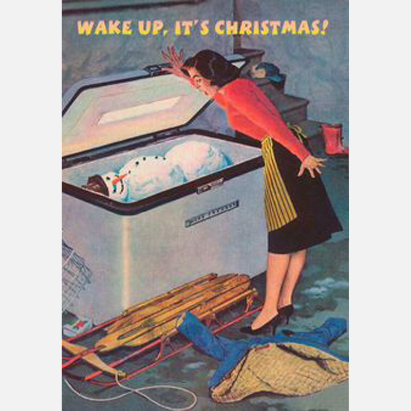 boutique-originale_com - carte postale wake up its christmas