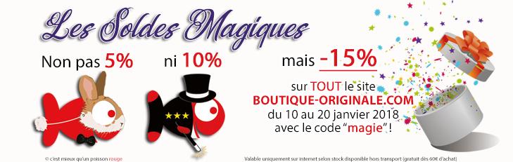 Boutique-Originale.com : Les soldes Magiques