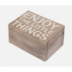 Boutique-Originale : Boîte en bois - Pour les petites choses