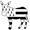 Sticker - Âne de Bretagne