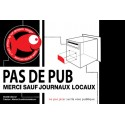 Sticker - Pas de pub !