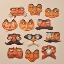 Mini masque en papier