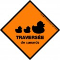 Sticker - Traversée de canards