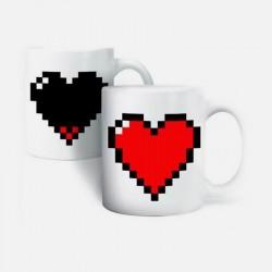 Boutique-Originale : Mug magique - Coeur
