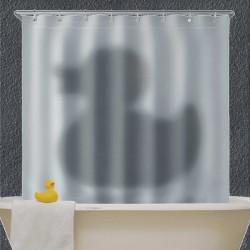 Rideau de douche canard