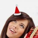 Barrette bonnet de Noël