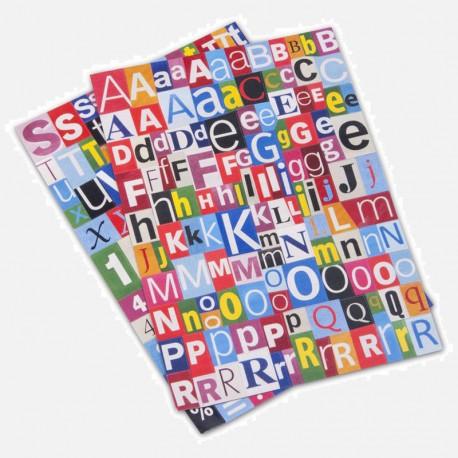 Magnet - 200 lettres / nombres / symboles