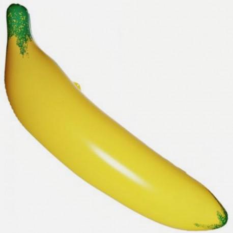 Banane gonflable géante