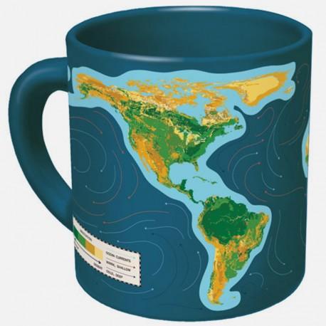 Boutique-Originale : Mug magique - Mappemonde