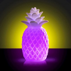 Ananas lumineux - couleurs changeantes
