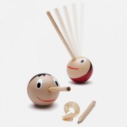 Boutique-Originale : Taille crayon Pinochio-culbuto