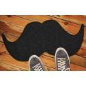 Paillasson moustache noir