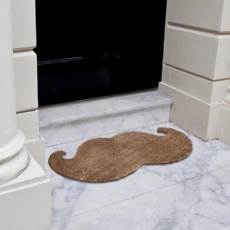 """Boutique-Originale : Paillasson moustache """"luxe"""""""