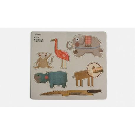 Boutique-Originale : Magnet surréaliste - Animaux sauvage