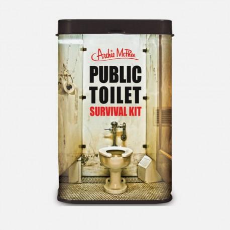 Boutique-Originale : Boite de secours pour WC public