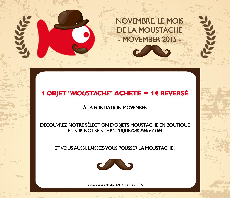 Boutique-Originale.com : Opération Movember