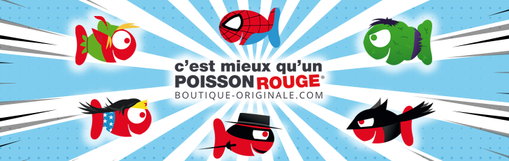 Boutique-Originale.com : Les héros !