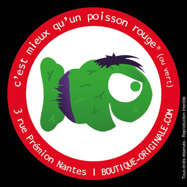 Boutique-Originale.com : L'incroyable poisson vert